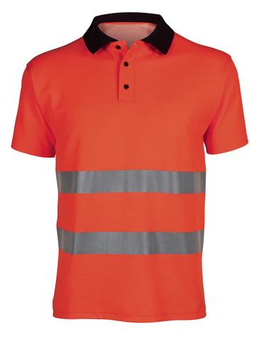 Poloshirt HV ISO20471-1