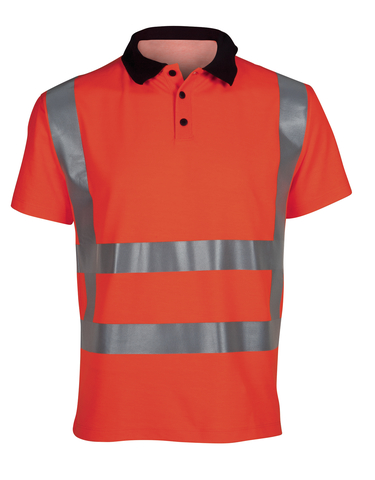 Poloshirt HV ISO20471-2 RWS